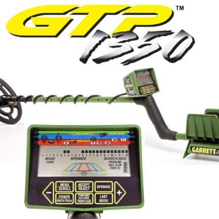Garrett GTP 1350 metal detector cheap - MetalDetectorsCheap.com